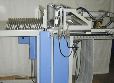 Pusher Bar Pleating Machine In Kathua